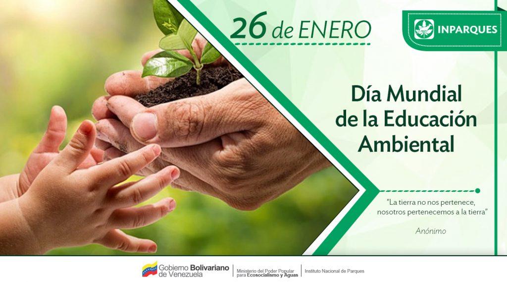 Inparques impulsa el ecosocialismo en el Día Mundial de la Educación Ambiental