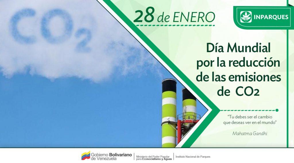 Inparques celebra Día Mundial por la Reducción de las Emisiones de CO2