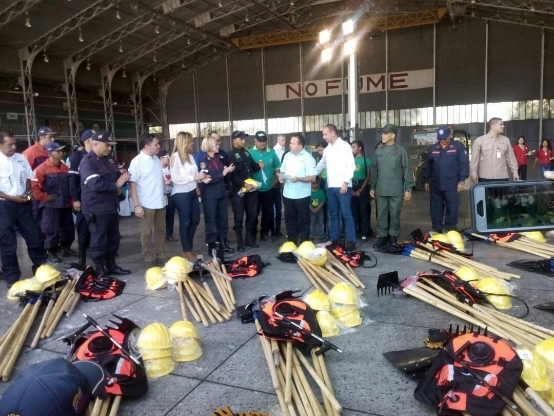 Instalado Comando Nacional Unificado para Prevención y Combate de Incendios Forestales 2018