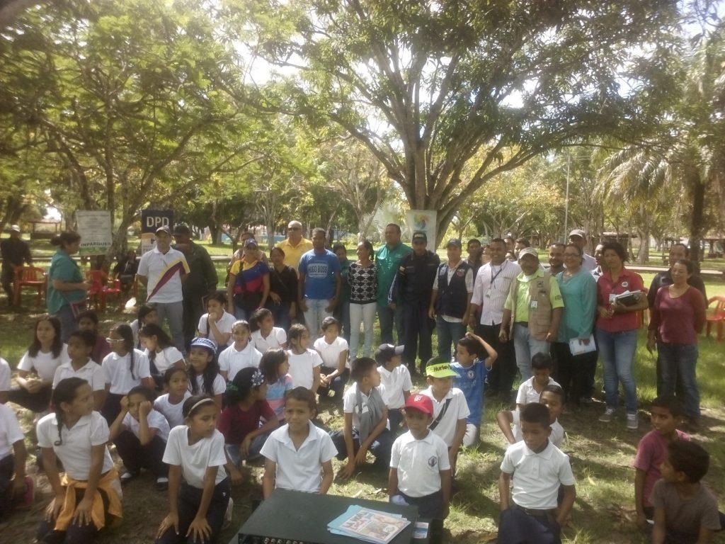 Inparques Monagas se sumó a los festejos por la fecha ambiental