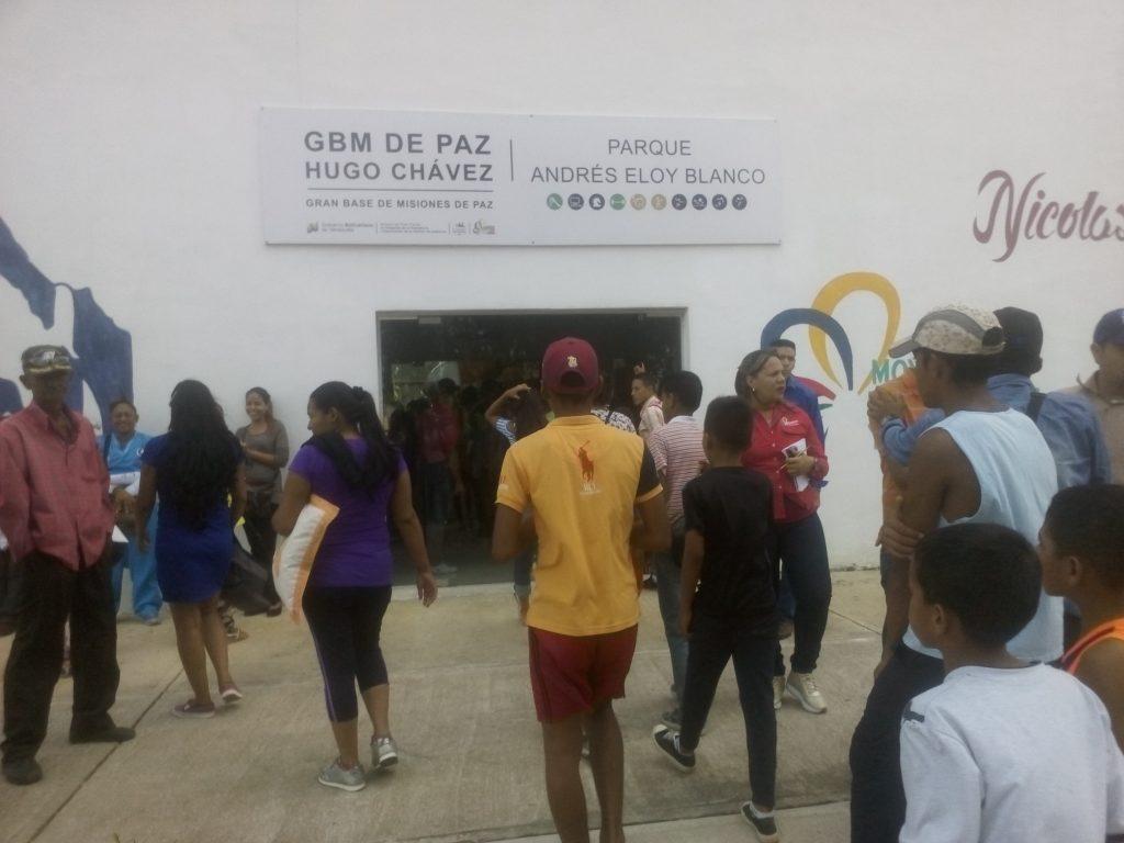 Gimnasio cubierto Parque Andrés Eloy Blanco en Maturín abre sus puertas