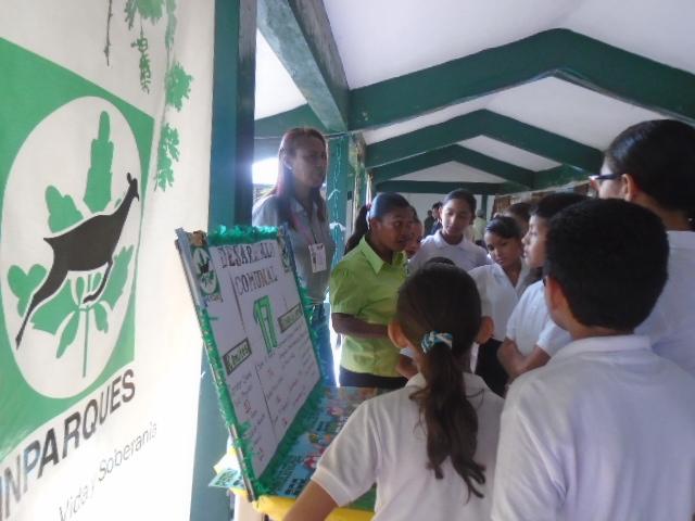 Inparques se sumó a Expoferia Ecocultural en Anzoátegui