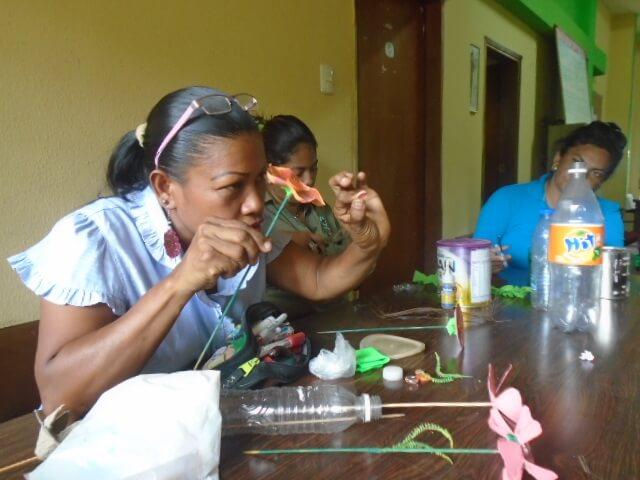 Personal de Inparques Anzoátegui se instruyó en prácticas de reciclaje