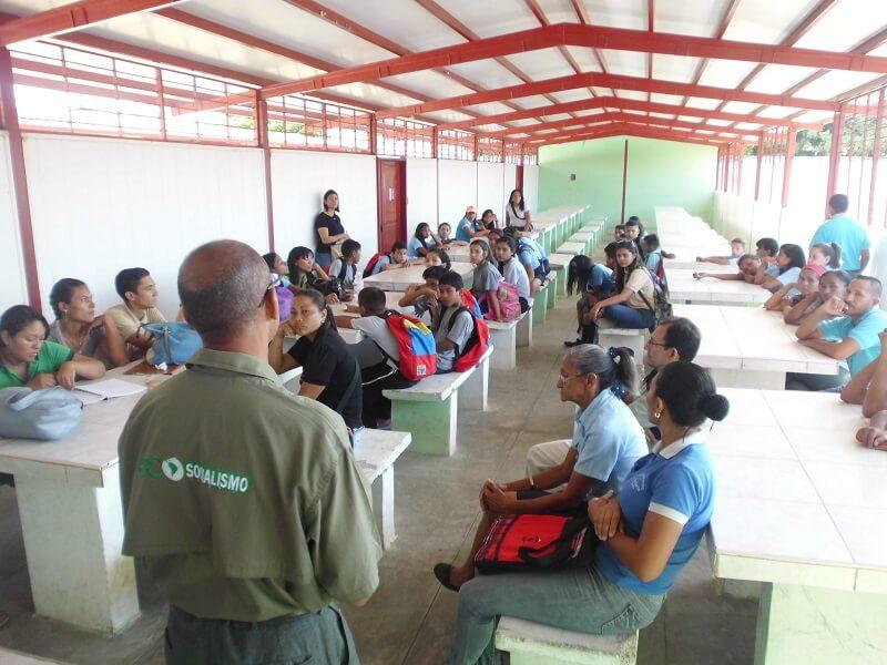 Inparques realizó jornada de sensibilización ambiental en Liceo Ezequiel Zamora de Apure