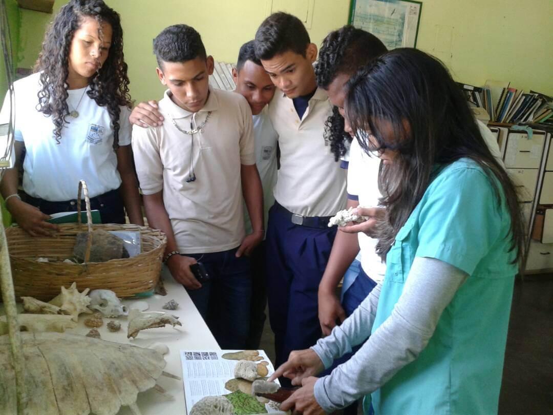 Pequeños Guardaparques de Morrocoy recibieron taller sobre el Día Mundial de los Humedales