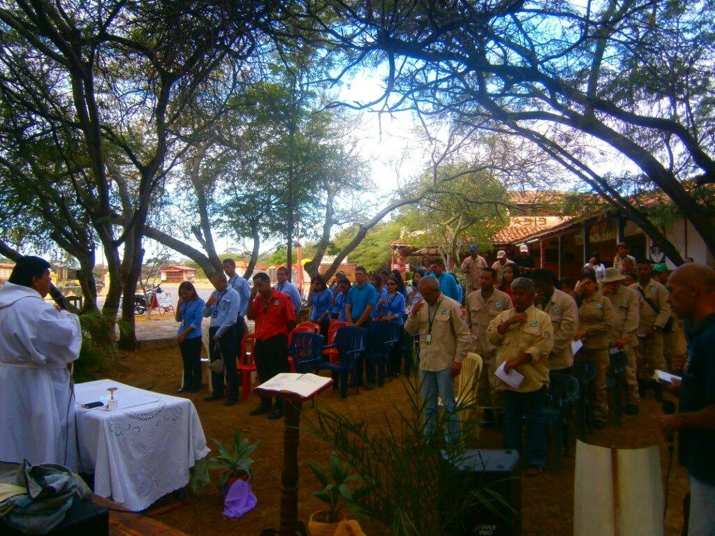 Semana aniversario del Parque Nacional Médanos de Coro culminó con eucaristía