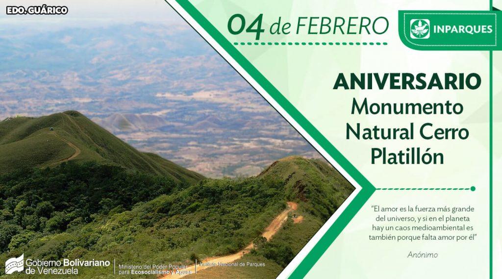El Cerro Platillón es otra de las maravillas naturales de Venezuela