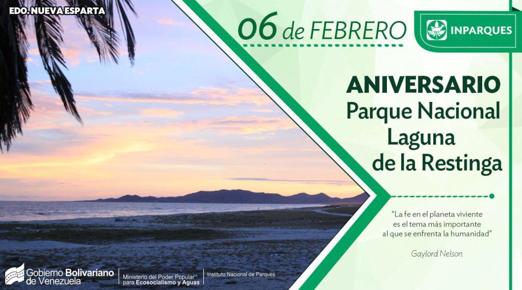 Parque Nacional Laguna de La Restinga cumple 44 años