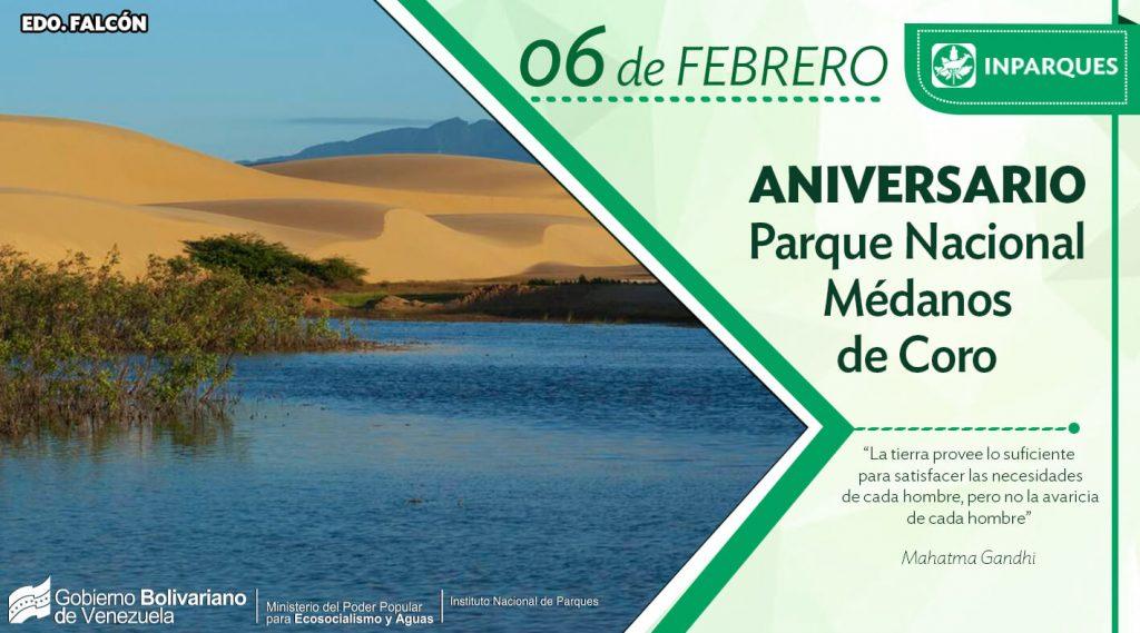 Ecosocialistas celebran 44 años de la declaración del Parque Nacional Médanos de Coro