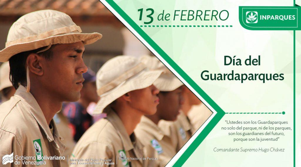 Inparques celebra el Día del Guarparques, defensores de la naturaleza