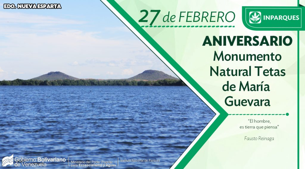 Monumento Natural Tetas de María Guevara cumple su 44 aniversario