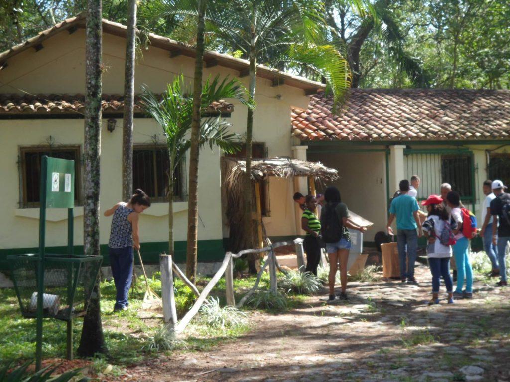 Mesa del Buen Vivir en Yaracuy efectuó saneamiento en el Parque Nacional Yurubí