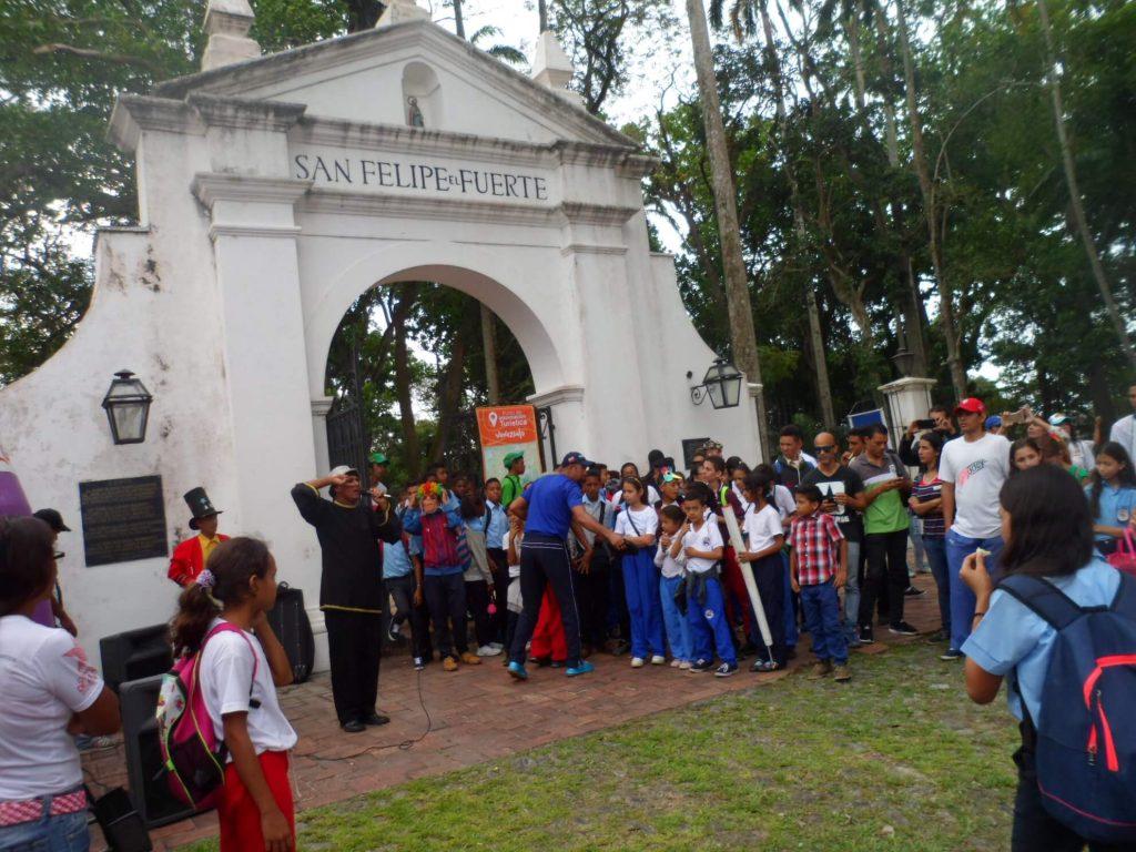 Yaracuy inició Festival de Playas, Ríos y Balnearios en el Parque Histórico San Felipe El Fuerte