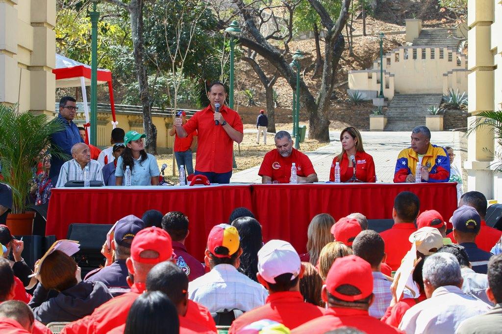 Juramentan Comando Nacional Ecosocialista en apoyo al presidente Nicolás Maduro