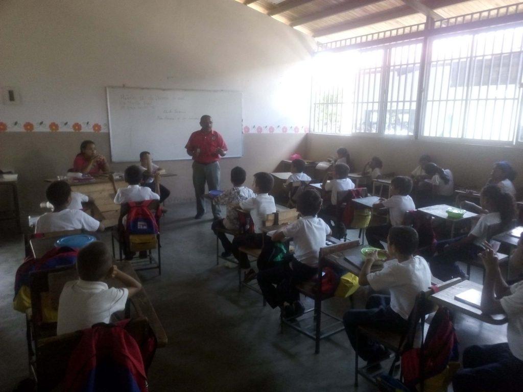 Inparques impartió conocimientos sobre los humedales a estudiantes de Monagas