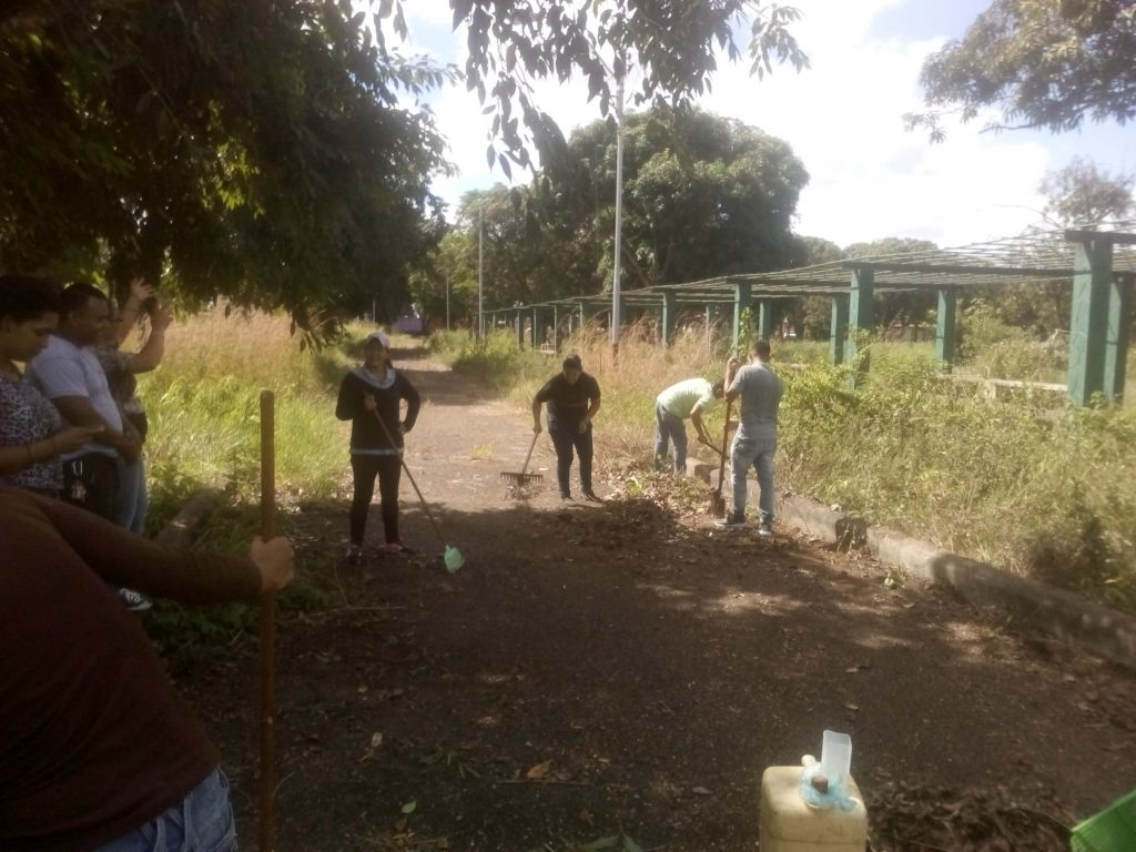 Parque de Recreación Andrés Eloy Blanco de Maturín recibió mantenimiento