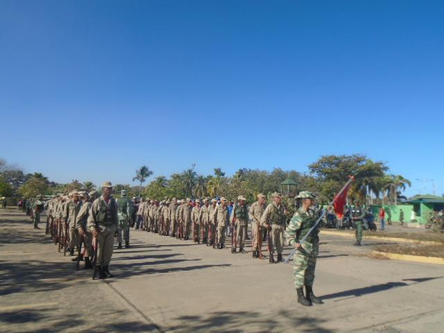 Marcha de Acción Defensiva Multidimensional partió desde el Parque Andrés Eloy Blanco en Anzoátegui