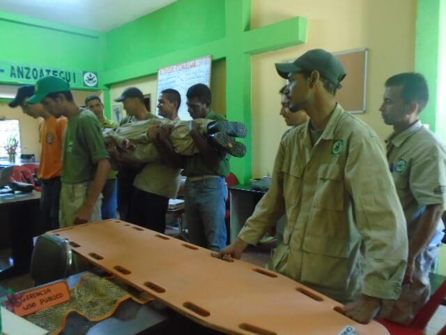 Guardaparques de Anzoátegui recibieron formación en primeros auxilios