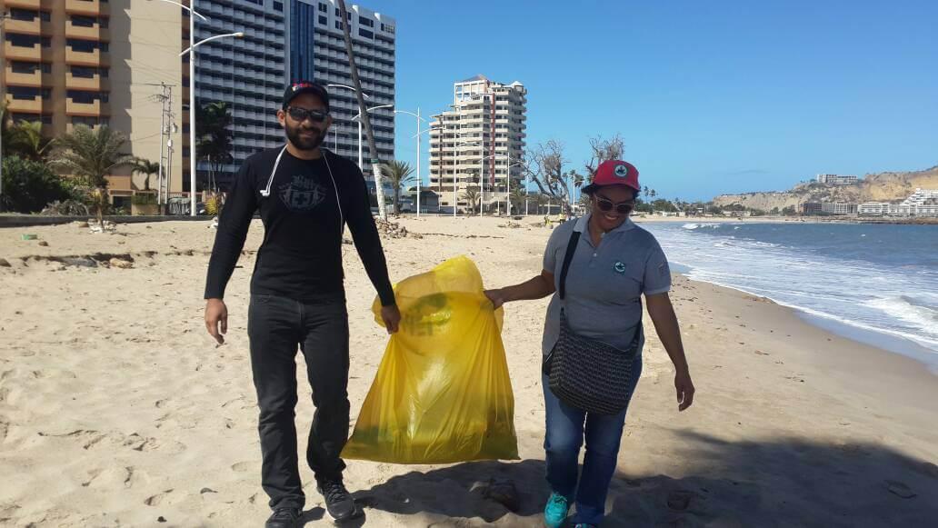 Inparques Anzoátegui participó en jornada de saneamiento