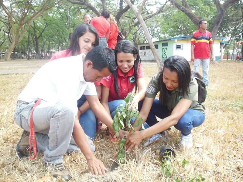 Efectúan jornada de reforestación en el Parque Menca de Leoni de Apure