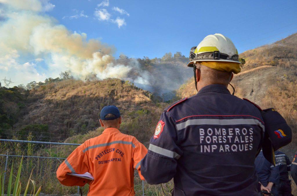 Ministro Velásquez Araguayán denunció incendios forestales provocados en parques nacionales