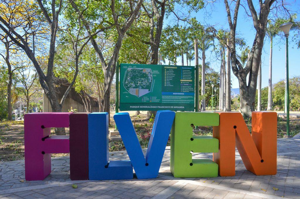 Parque Generalísimo Francisco de Miranda se luce como escenario de la Filven capítulo Miranda