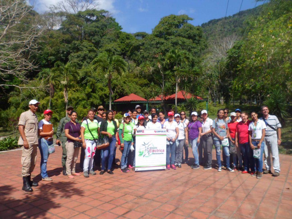 Colectivo de Gestión Ambiental realiza caminata ecológica en el Parque Nacional Yurubí