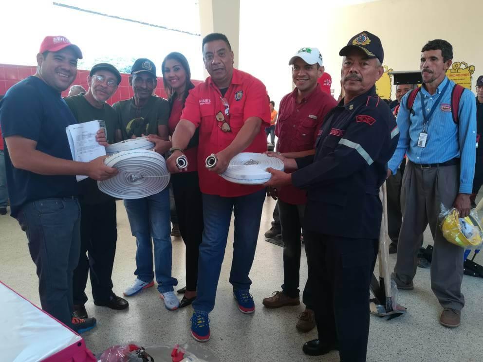 Brigadas contra incendios forestales reciben dotación en Cojedes