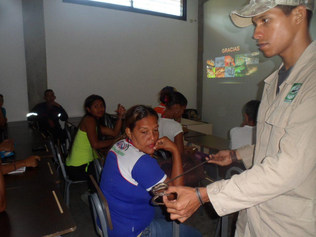 Inparques ofreció taller sobre los ofidios de Venezuela en Yaracuy