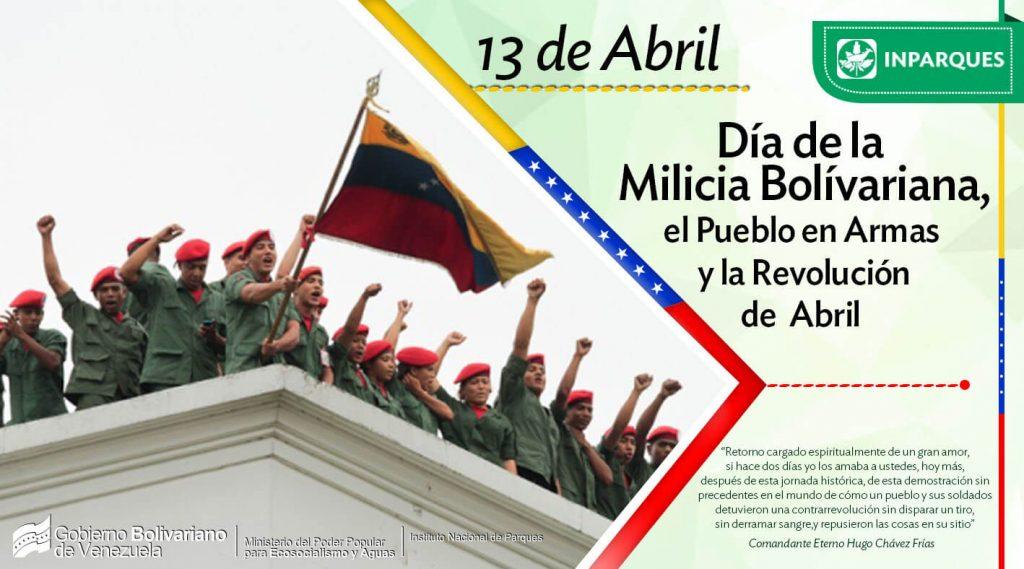Milicia Nacional Bolivariana es un hito de la unión cívico-militar en Venezuela