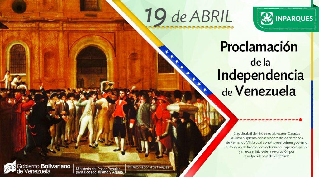 Venezuela celebra 208 años de la Proclamación de Independencia