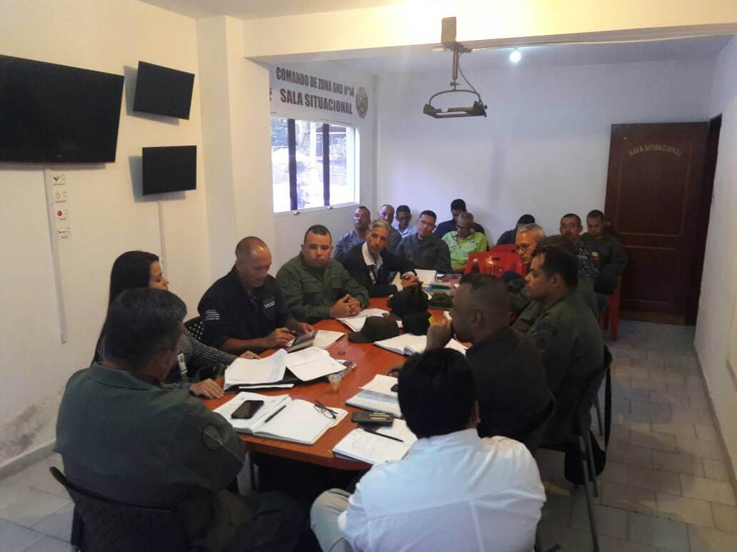 Comando contra Incendios y GNB acuerdan medidas preventivas contra delitos ambientales en Yaracuy