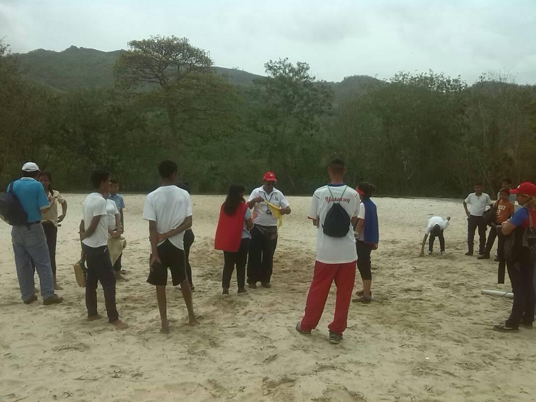 Movimiento por la Paz y la Vida visita el Parque Recreacional Embalse Cumaripa