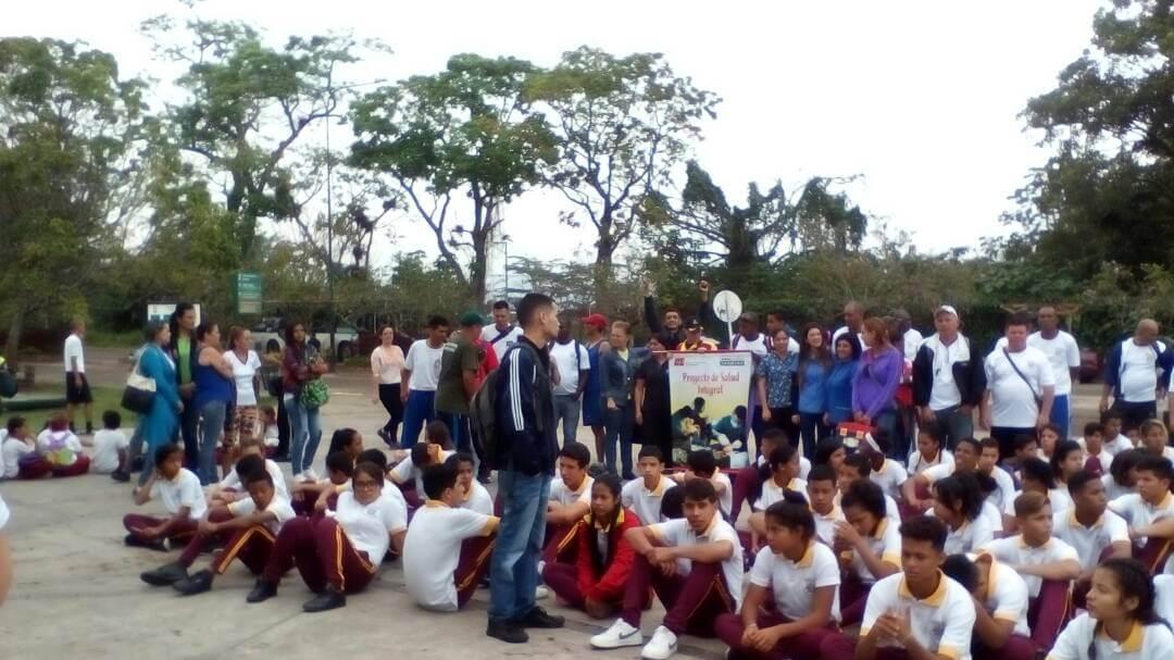 Día Mundial de la Actividad Física se celebró en el Parque Metropolitano del Táchira