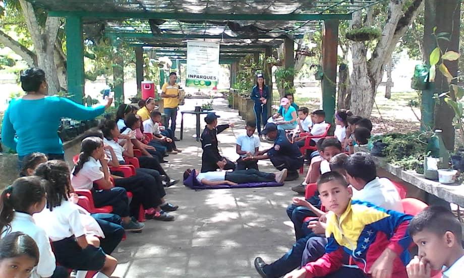 Inparques Monagas dedica Viernes Ecosocialista a formación de brigadas ambientales