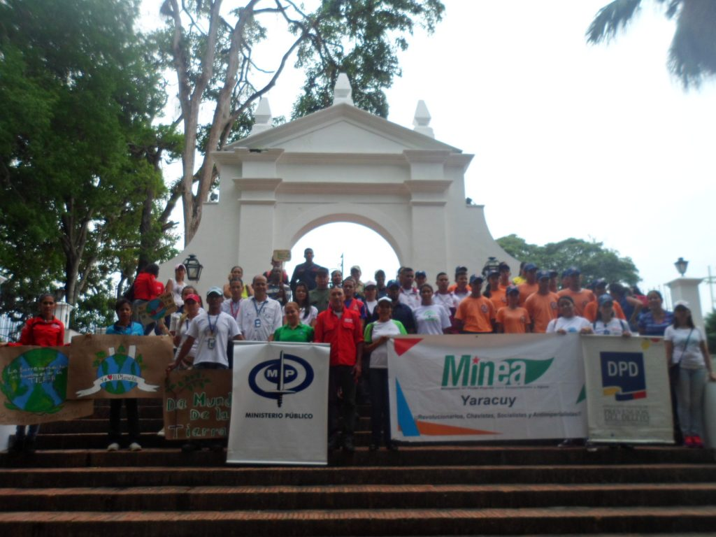 Conmemoraron el Día Mundial de la Tierra en Yaracuy