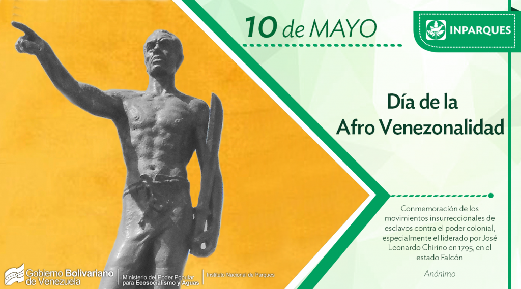 Inparques conmemora 13 años del reconocimiento de la Afrovenezolanidad