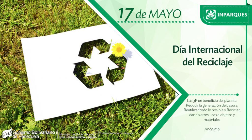 Inparques celebra el Día Mundial del Reciclaje