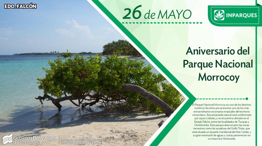 El  paraíso tropical de Venezuela celebra  sus 44 años