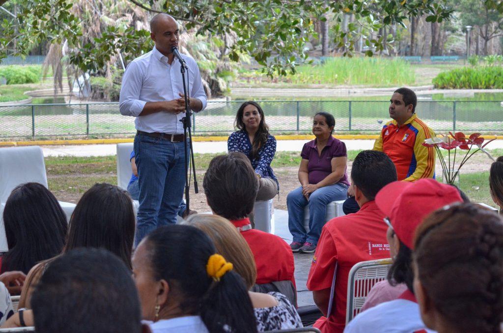 """Parque Generalísimo Francisco de Miranda es escenario de la Expo Feria """"Mujeres productoras de Miranda"""""""