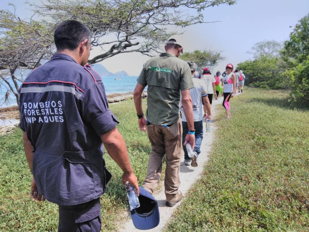 Inparques efectuó recorrido de inspección en el Parque Nacional San Esteban