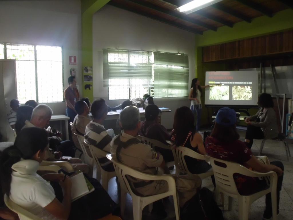 Personal de Inparques Táchira participó en taller sobre líquenes