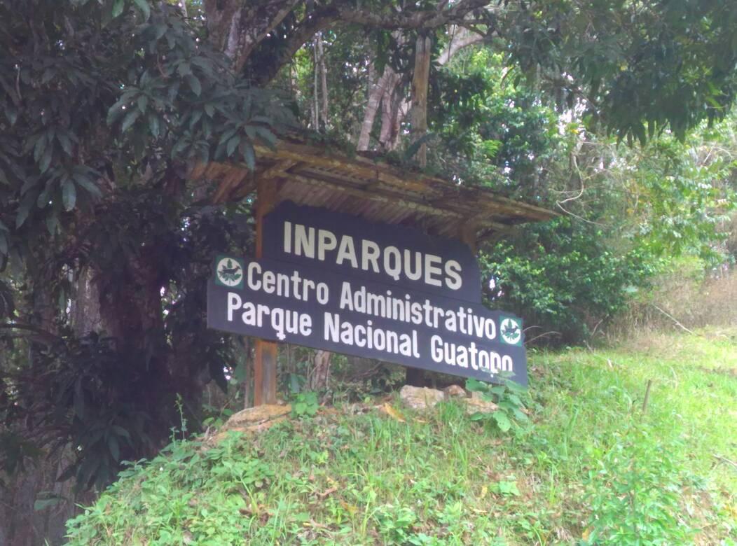 Inparques inspeccionó áreas del Parque Nacional Guatopo