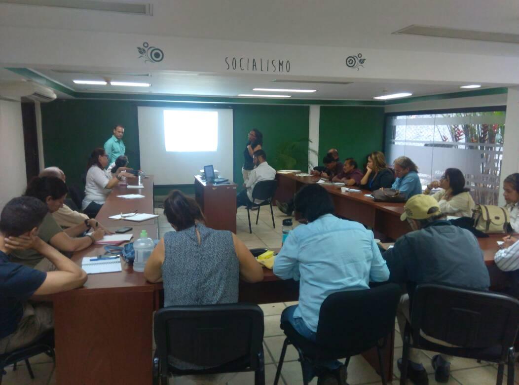 Inparques desarrolló segunda mesa de trabajo del PORU del Parque Nacional Caura