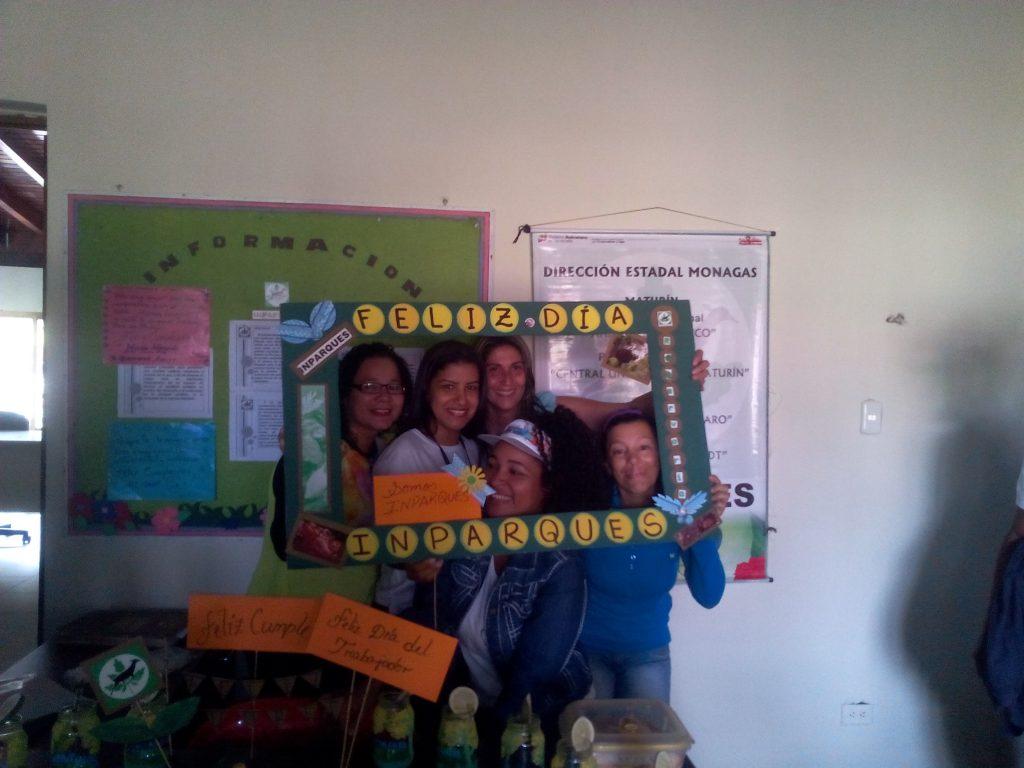 Servidores públicos de Inparques Monagas celebraron Día del Trabajador