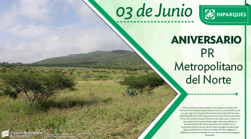 Parque de Recreación Metropolitano del Norte arriba a 25 años de creación