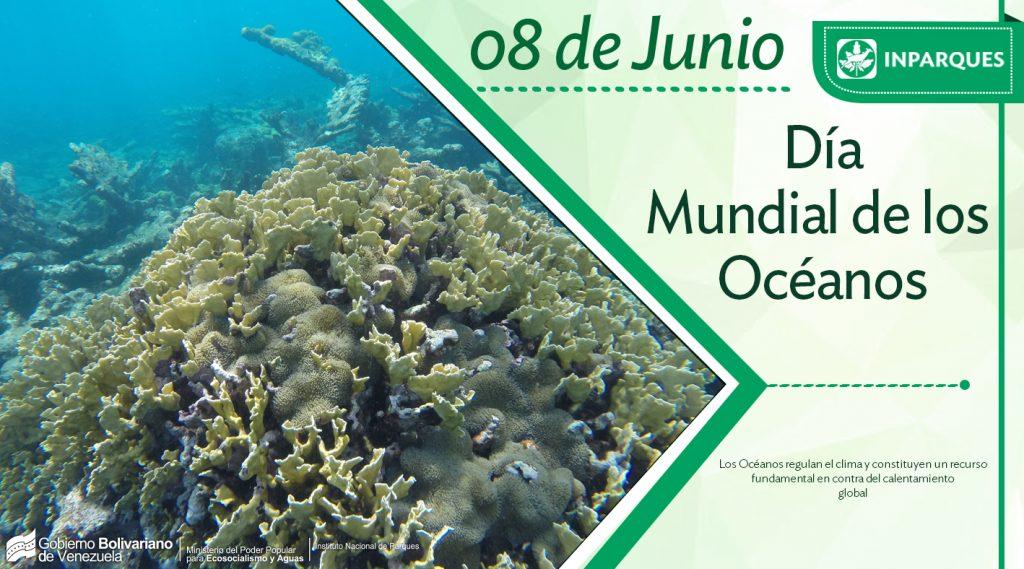 Inparques conmemora Día Mundial de los Océanos