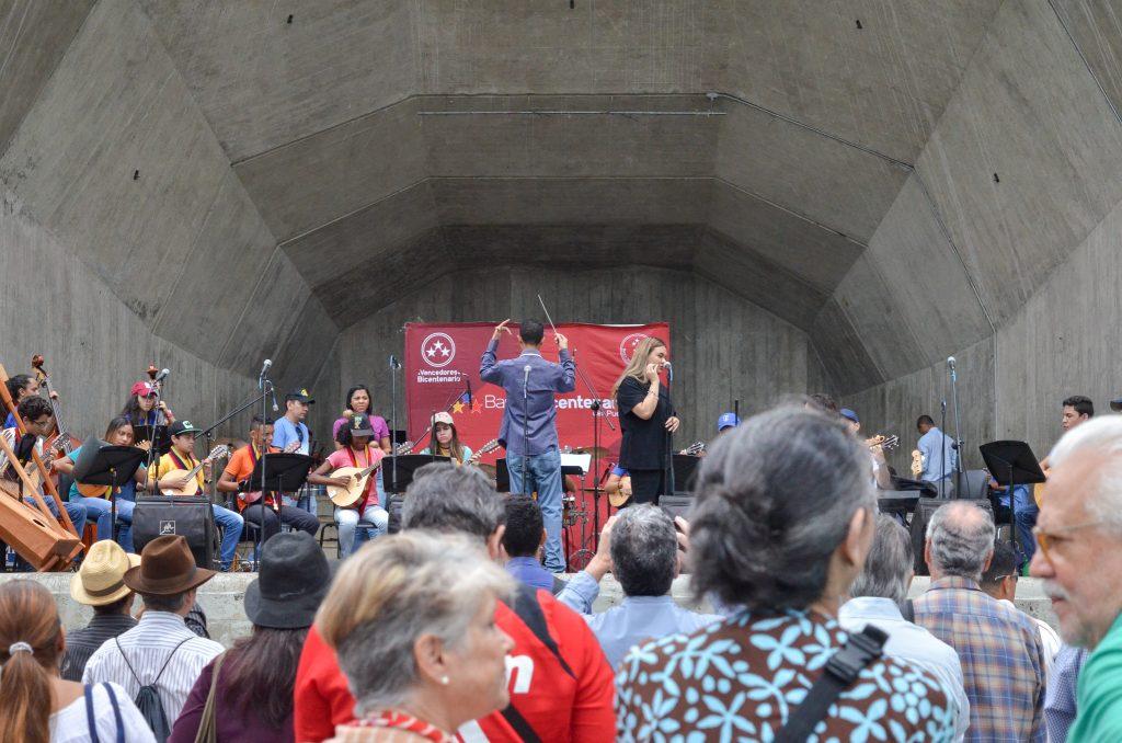 Parque Generalísimo fue escenario para celebrar hermandad entre Venezuela y Japón