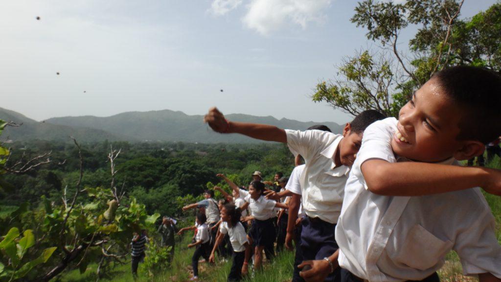 Inparques Carabobo celebró el Día Mundial del Árbol con jornada de reforestación