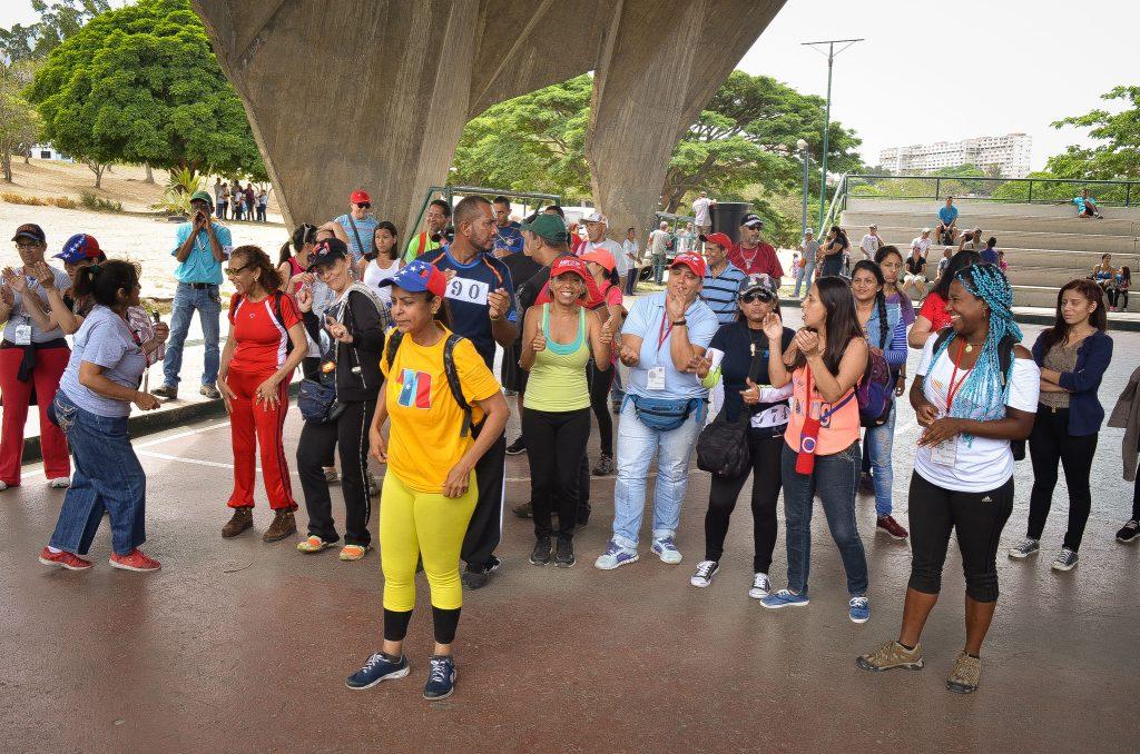 Inparques participó en la ecocaminata  3K por el Día Mundial del Ambiente